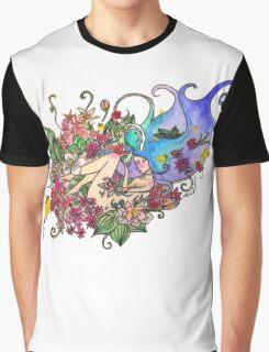 Sleeping Antler Girl  Graphic T-Shirt