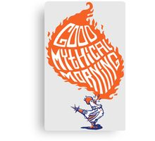 Good Mythical Morning Canvas Print
