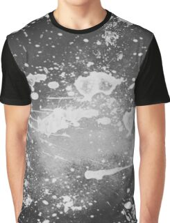 Splatter Abstract Graphic T-Shirt