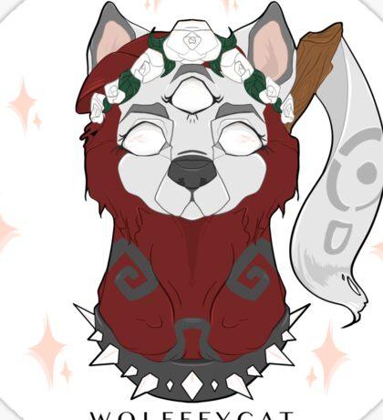WOLFFEYCAT - Arctic Wolf  Sticker