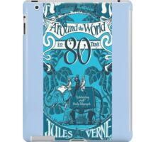 Around The World In 80 Days Cover iPad Case/Skin
