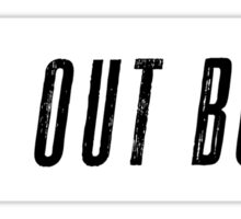 Fall Out Boobs Sticker