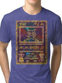 ANCIENT MEW - Pokemon Card T-Shirt Tri-blend T-Shirt
