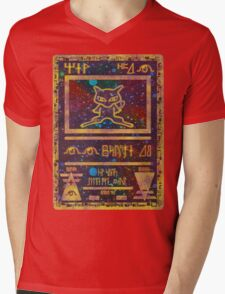 ANCIENT MEW - Pokemon Card T-Shirt Mens V-Neck T-Shirt