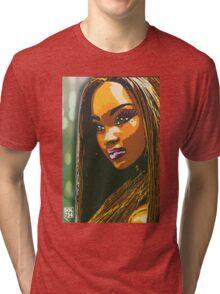 $IN CITY: JASMINE WEST Tri-blend T-Shirt