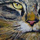 Norwegian Forest Cat by Michael Creese