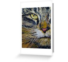 Norwegian Forest Cat Greeting Card