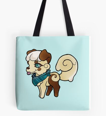Sweetroll Pup Tote Bag
