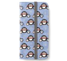 Cute Penguins Pattern iPhone Wallet/Case/Skin