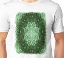Green Stripes Kaleidoscope 2 Unisex T-Shirt