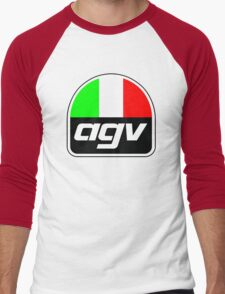 AGV helmet Italy Sunvisor Men's Baseball ¾ T-Shirt