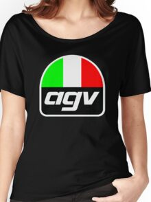 AGV helmet Italy Sunvisor Women's Relaxed Fit T-Shirt