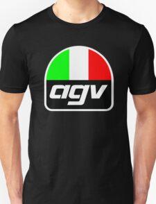 AGV helmet Italy Sunvisor Unisex T-Shirt