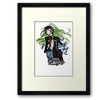 lelouch and C back to back Framed Print