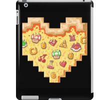 Power-Up Pixel Heart Pizza iPad Case/Skin