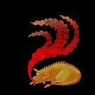 Snoring Dragon by SusanSanford