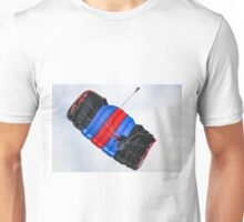 Tricolor Skydiver at Hahnweide Airfield, Germany Unisex T-Shirt