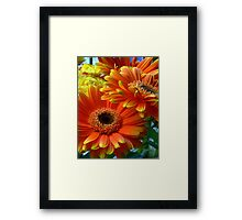 Flowers from my date - Photography Framed Print