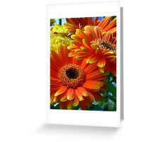 Flowers from my date - Photography Greeting Card