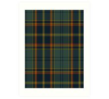 00299 Antrim County District Tartan  Art Print