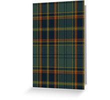 00299 Antrim County District Tartan  Greeting Card