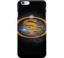 San Francisco 49ers - Men of Gold Emblem iPhone Case/Skin