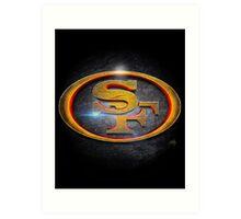 San Francisco 49ers - Men of Gold Emblem Art Print