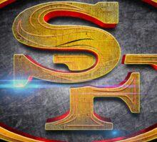 San Francisco 49ers - Men of Gold Emblem Sticker