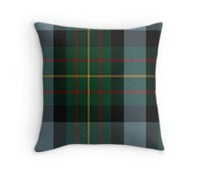 00306 Big Sur MacLaren Tartan  Throw Pillow