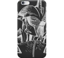 Transformers Prime: Knock Out (Silver and Black) iPhone Case/Skin