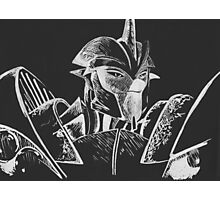Transformers Prime: Knock Out (Silver and Black) Photographic Print