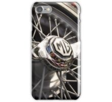 MG Wire Wheel iPhone Case/Skin