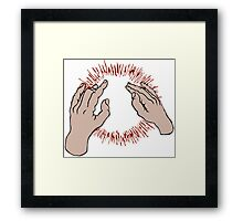 Lift Yr. Skinny Fists Like Antennas to Heaven by God Speed You! Black Emperor Framed Print