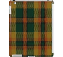 00336 Londonderry County District Tartan  iPad Case/Skin
