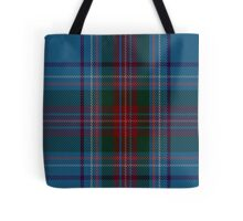 00339 Louth County District Tartan Tote Bag