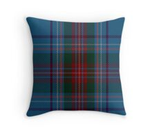 00339 Louth County District Tartan Throw Pillow