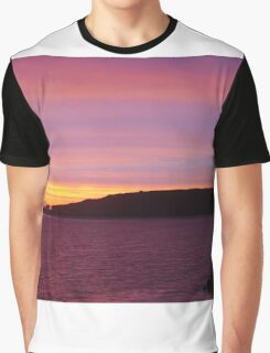 Sunset, Stanley, Tasmania, Australia (1) Graphic T-Shirt