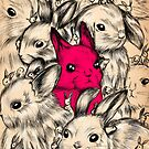 BUNNIES GALORE! by Marta Tesoro