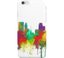 Minneapolis, Minnesota Skyline - SG iPhone Case/Skin