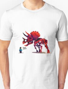 Play Dead Pet Dinosaur Unisex T-Shirt