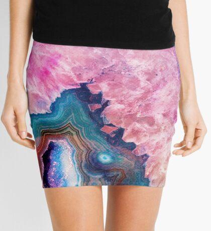 Agate #redbubble #lifestyle Mini Skirt