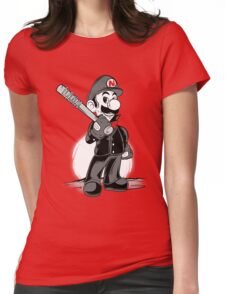 LET THE SMASH BEGIN. Womens Fitted T-Shirt