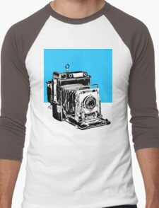 Vintage Graphix Camera in Electric Blue T-Shirt
