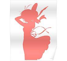 Nagisa Summer Dress Pink - Clannad Poster
