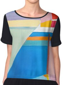 Indian Ocean Park Women's Chiffon Top