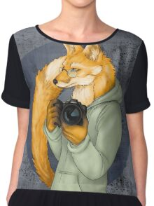 Photographer Fox Chiffon Top