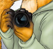 Photographer Fox Sticker