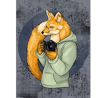Photographer Fox Photographic Print