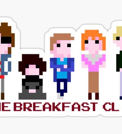 8-bit The Breakfast Club  Sticker