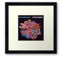 NIGHTMARES ON WAX A WORD OF SCIENCE Framed Print